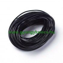 Fekete (15) Bőrszál 1,5mm 1m