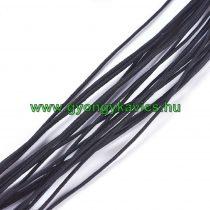 Fekete (6) Kalapgumi 0.8mm 1m