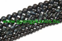 Fekete Kék Tigrisszem Ásványgyöngy 6mm