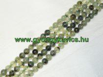 Prehnit (fekete) Ásványgyöngy Gyöngyfüzér 10mm