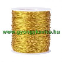 Fényes Arany (114) Kordszál 1.5mm 1m