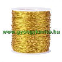 Fényes Arany Színű (115) Nejlon Nylon Szál 0.6mm 1m