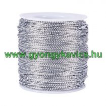 Fényes Ezüst (111) Kordszál 0.5mm 1m