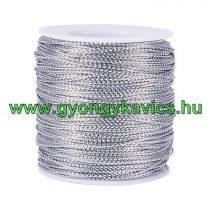 Fényes Ezüst (113) Kordszál 2.0mm 2mm 1m