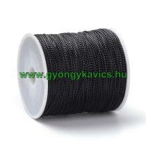 Fényes Fekete Színű (126) Nejlon Nylon Szál 1.0mm 1m