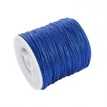 Fényes kék (108) Kordszál 0.6mm 1m