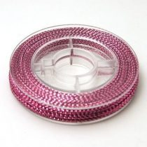 Fényes Rózsaszín (2) Kordszál 0.6mm 10m