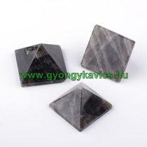 Füstkvarc Ásvány Piramis Marokkő 31-35x31-35x22-25mm