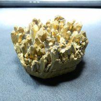 Galvanizált Arany Kvarc Kristály Ásvány 70x54x52mm