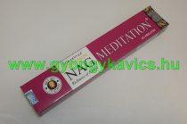Golden NAG Vijayshree Meditáció Meditation Agarbathi Füstölő