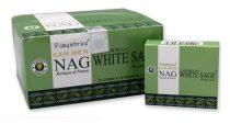 Vijayshree Golden Nag Kaliforniai Fehér Zsálya Californian White Sage Füstölő Kúp (10db)