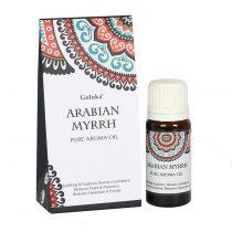 Goloka Arab Mirha Arabian Myrrh Díszdobozos Indiai Prémium Illóolaj