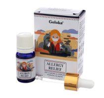 Goloka Allergia Enyhítésére Indiai Prémium 100%-os Természetes Higítatlan Illóolaj Allergy Relief