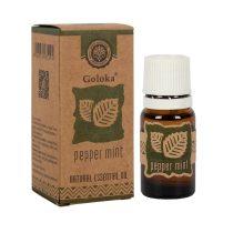 Goloka Borsmenta Díszdobozos Indiai Prémium 100%-os Illóolaj