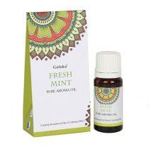 Goloka Menta Fresh Mint Díszdobozos Indiai Prémium Illóolaj