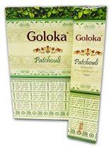 Goloka Pacsuli Patchouli Illatú  Füstölő