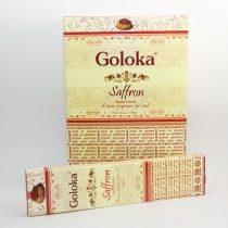 Goloka Sáfrány Saffron Füstölő