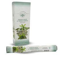 Green Tree Fehér Zsálya White Sage Yerba Santa Füstölő