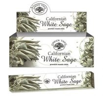 Green Tree Kaliforniai Fehér Zsálya Californian White Sage Yerba Santa Füstölő