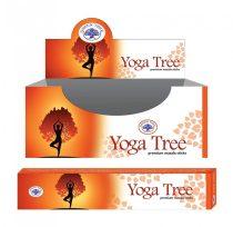 Green Tree Jóga Fa Yoga Tree Füstölő
