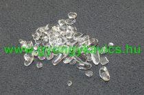 Hegyikristály Ásványtörmelék (ovális) 3-9x1-4mm 10g
