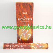 Hem 7 Erő 7 Powers Füstölő