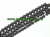 Magnetit Mágneses Hematit Ásványgyöngy Gyöngyfüzér 10mm