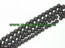 Magnetit Mágneses Hematit Ásványgyöngy Gyöngyfüzér 12mm