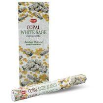 Hem Copal White Sage Kopál Fehér Zsálya Füstölő