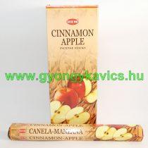 Hem Fahéj Alma Cinnamon Apple Füstölő