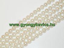 Kagyló Gyöngy Gyöngyfüzér 12mm