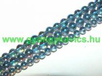 Kék Angyal Aura Kvarc Ásványgyöngy 6mm