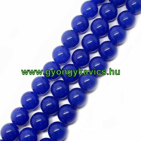 Kék Jade Ásványgyöngy  10mm