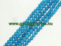 Kék Lávakő Ásványgyöngy Gyöngyfüzér 6mm