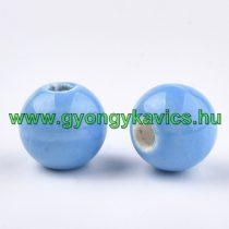 Kék Porcelán Gyöngy 10mm