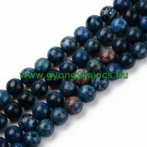 Kék Türkiz Ásványgyöngy 8mm