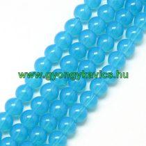 Kék Üveggyöngy Gyöngyfüzér 8mm