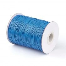 Kék (63) Viaszolt Kordszál 2.0mm 2mm 1m