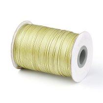 Khaki Zöld (15) Viaszolt Kordszál 1.0mm 1m