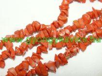 Korall Gyöngy Gyöngyfüzér Törmelék Splitter 8-12mm 80cm