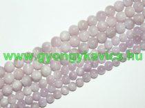 Kunzit (egyszínű) Ásványgyöngy 10mm
