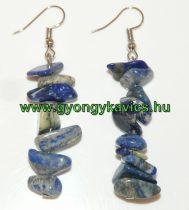Lápisz Lapis Lazuli Ásvány Lógó Fülbevaló