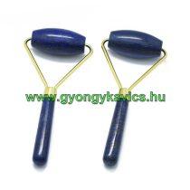 Lápisz Lazuli Lazurit Arany Színű Masszázs Henger, Masszírozó Görgő