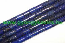 Lazurit Lápisz Lazuli Lekerekített Téglalap Ásványgyöngy 14x10x5mm