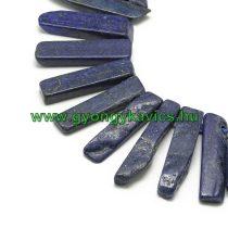 Lápisz Lazuli Lazurit Rusztikus Oszlop Ásványgyöngy Gyöngyfüzér Nyaklánc Nyakék Alap 20-65x7-15mm