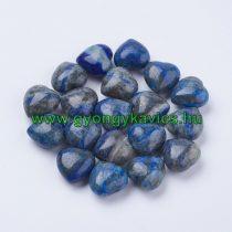 Lápisz Lazuli Lazurit Szív Ásvány Marokkő 15x15x10mm