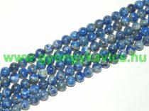 Lazurit Lápisz Lazuli (világos) Ásványgyöngy Gyöngyfüzér 8mm