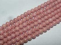 Lazac Rózsaszín Kerámia Gyöngy Gyöngyfüzér 8,5mm