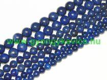 Lazurit Lápisz Lazuli Ásványgyöngy Gyöngyfüzér 12mm