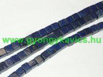 Lazurit Lápisz Lazuli Kocka Ásványgyöngy Gyöngyfüzér 4x4mm